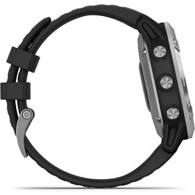 Garmin Fenix 6 Solar GPS Smartwatch, negro/Plateado